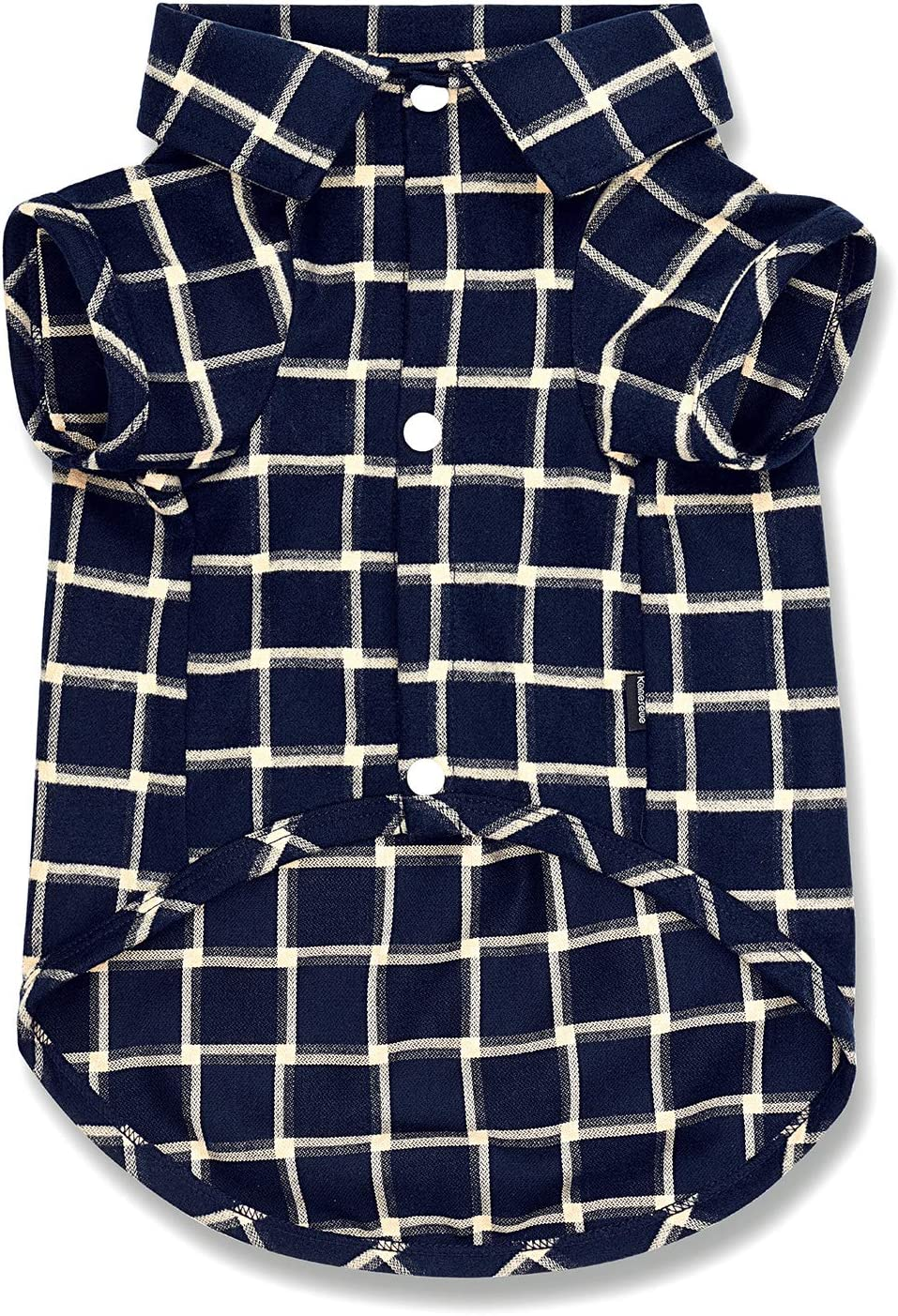 Koneseve Dog Shirt, Pet Plaid Shirts Clothes T-Shirt, Sweater Bottoming Shirt Soft for Small Dogs Cats Puppy Grid Apparel Adorable Every Day Pajamas Costumes fit for Christmas { Blue#2; 3XL } : Pet Supplies
