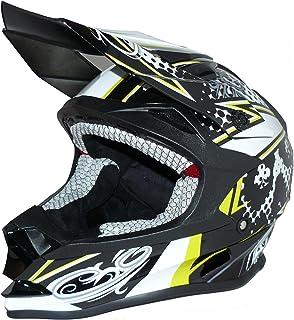 nero-bianco FS603-SW casco Enduro Protectwear Casco moto Croce taglia XL