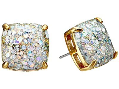 Kate Spade New York Small Square Studs (Opal/Glitter) Earring