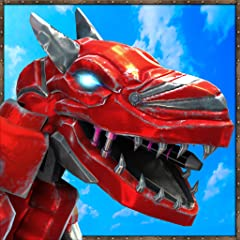 Addictive game play Awesome 3D city environment Realistic Dinosaur and Robot Anatomy and Physics Action packed and multiple task-based missions Realistic sounds & visual effects Multiple dino appearance to choose from