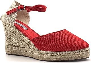 Amazon.fr  Chaussures Compensées Fermées , Chaussures