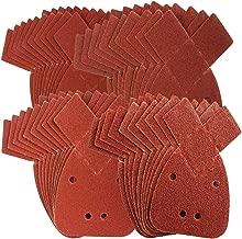 K40/Velcro Prio 11/trous Papier abrasif papier abrasif delta triangulaire s/éparable de disques abrasifs 105/x 152/mm 50/BL