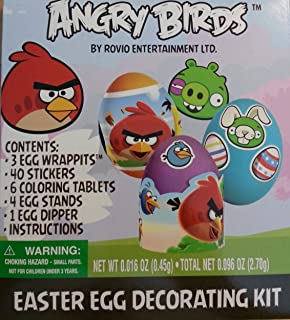 6041489 Angry Birds Easter Egg Decorating Kit