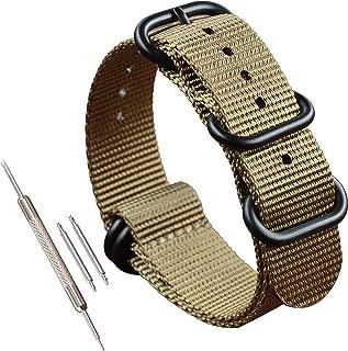 Thick Nylon Watch Strap (18mm 19mm 20mm 21mm 22mm 23mm 24mm 26mm)