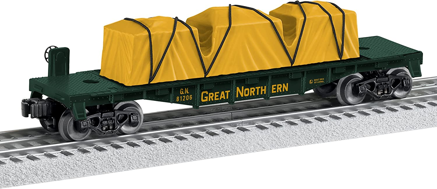 Lionel Trains Great Northern Made in the USA Flatcar