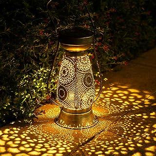 Lanterne Solaire, Görvitor LED Lanterne Solaire Exterieur, IP44 étanche Lanterne Solaire Exterieur Jardin, Lampe Solaire ...