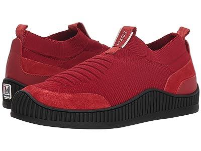 Z Zegna Techmerino Wave Slip-On Sneaker (Red) Men