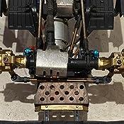 XUNJIAJIE Heavy Weight Brass C-hub Upgrade Parts for Traxxas TRX4 1/10 RC Crawler Model Auto
