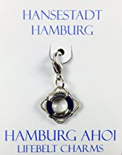 Menk Souvenirs Hamburg Anhänger Hamburg AHOI (Rettungsring)