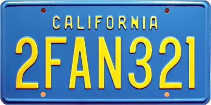 Celebrity Machines Big Trouble in Little China   2FAN321 Stamped License Plate