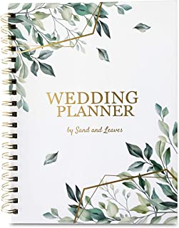 B5 Wedding Planning Book with Wedding Stickers | Perfect Engagement Gift for Couples | Wedding Planner Book and Organizer ... photo