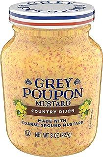 Grey Poupon Country Dijon Mustard, 8.0 oz Jar