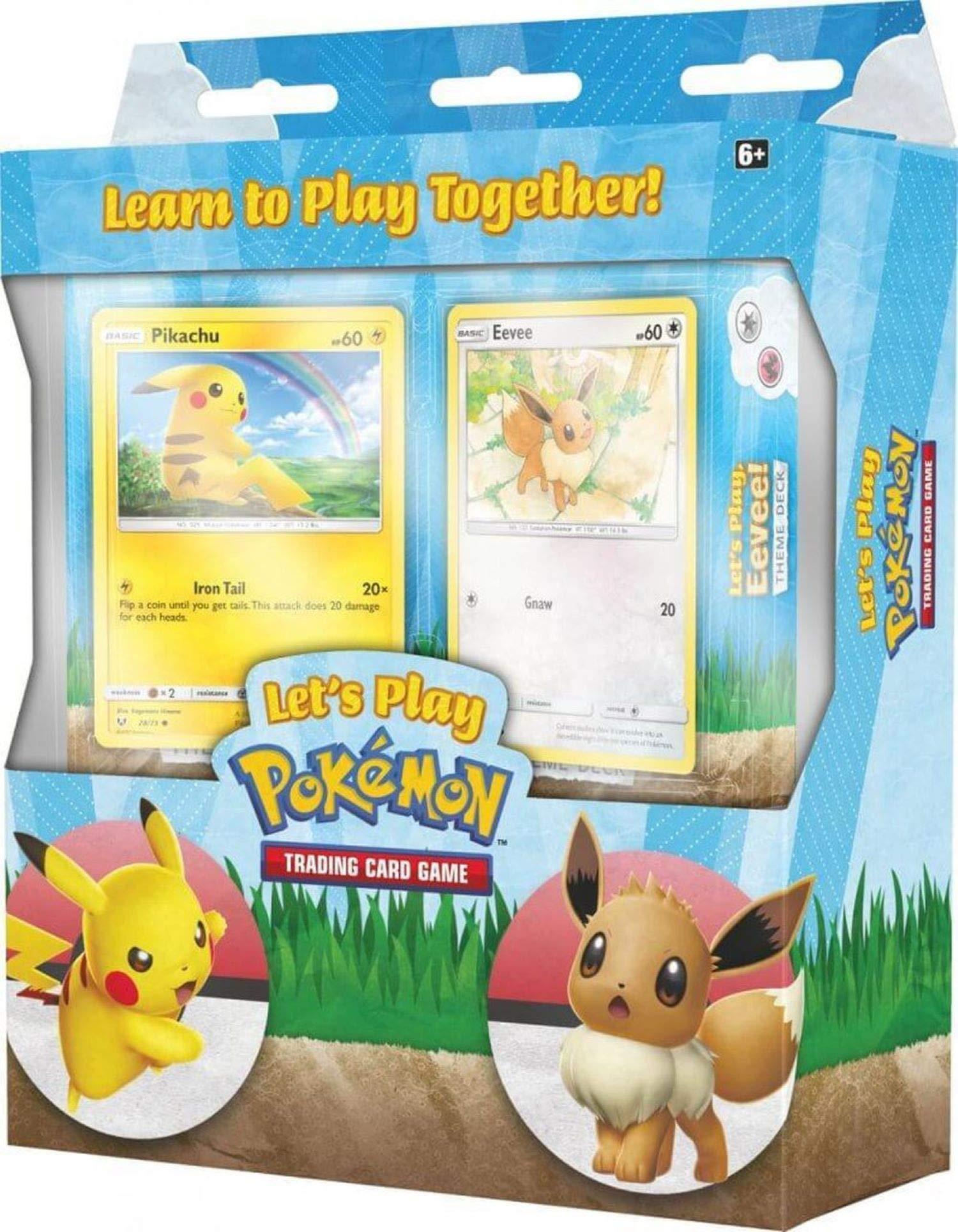 Pokemon TCG Lets Play Box