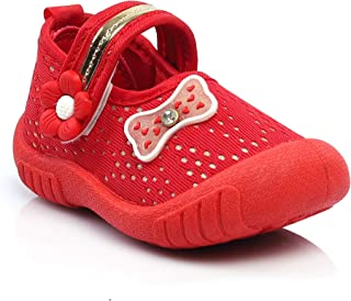 Kats Baby Girl Cindrella Chu Chu Sound Sandals for 12-24 Months Child