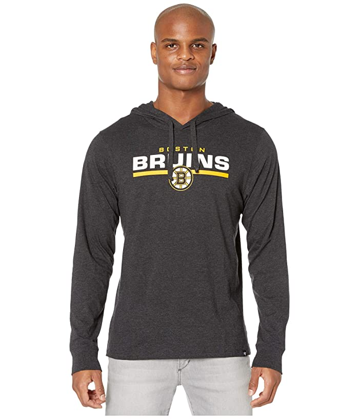 Boston Bruins End Line Club Hoodie Jet Black
