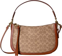 Coated Canvas Signatures Sutton Crossbody