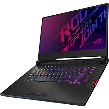"ASUS ROG Strix Hero III (2019) Gaming Laptop, 15.6"" 144Hz IPS Type Full HD, NVIDIA GeForce RTX 2070, Intel Core i7-9750H, 16GB DDR4, 512GB PCIe NVMe SSD, Per-Key RGB KB, Windows 10 Pro, G531GW-XB74"