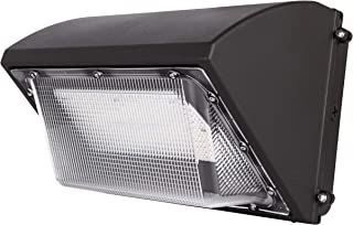Hyperikon LED Wall Pack, 70W (HPS HID Replacement), Commercial and Industrial Outdoor Lighting, 5000K, IP65 Waterproof, UL, DLC