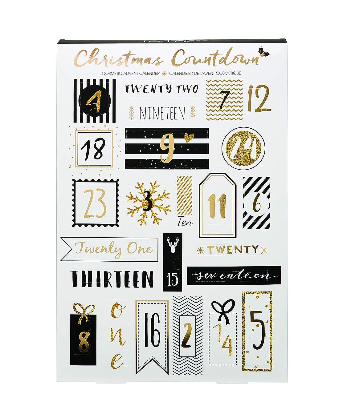 コーヒーテニス旅Technic Advent Christmas Countdown Cosmetic Calendar 化粧 アドベントカレンダー