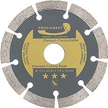 PRODIAMANT Diamantslijpschijf 115 x 22,23 x 1,9 x 10 mm - beton, steen, baksteen, universeel