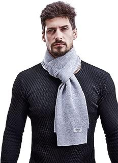 Men Winter Cashmere Scarf Wool Scarves, Elegant Gift