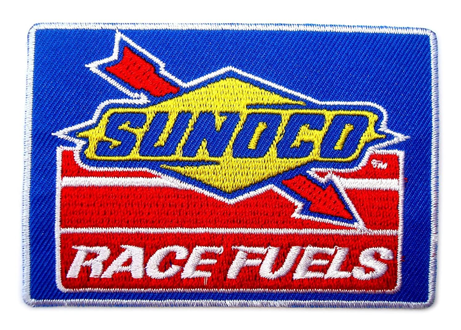 Sunoco Race Fuels NHRA Drag NASCAR Racing Clothing Patch Sew Iron on Logo Embroidered Badge Sign Emblem Costume BY Dreamhigh_skyland