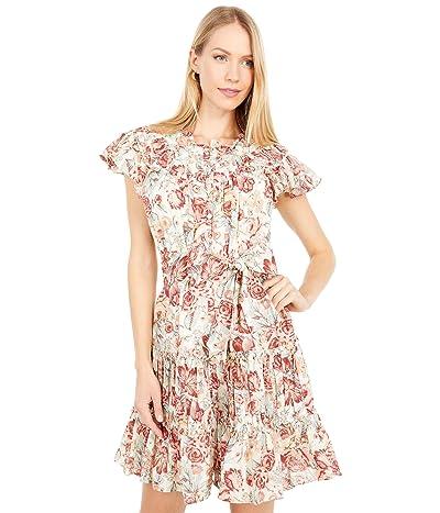 La Vie Rebecca Taylor Short Sleeve Lucienne Dress