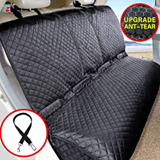 Best Vailge Bench Dog Car Seat Cover for Back Seat, 100% Waterproof Dog Car Seat Covers, Heavy-Duty & Nonslip Back Seat Cover for Dogs,Washable & Compatible Pet Car Seat Cover for Cars, Trucks & SUVs Review