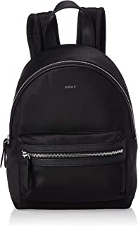 DKNY Womens Backpack, Black (Black/Silver) - R81KE592