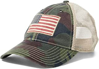 قبعة سائقي الشاحنات الشبكية للرجال من بولو رالف لورين