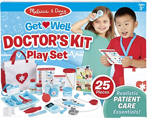 Melissa & Doug 8569 M&D - Get Well Doctor's Kit Play Set Pretend Play Set, Multi