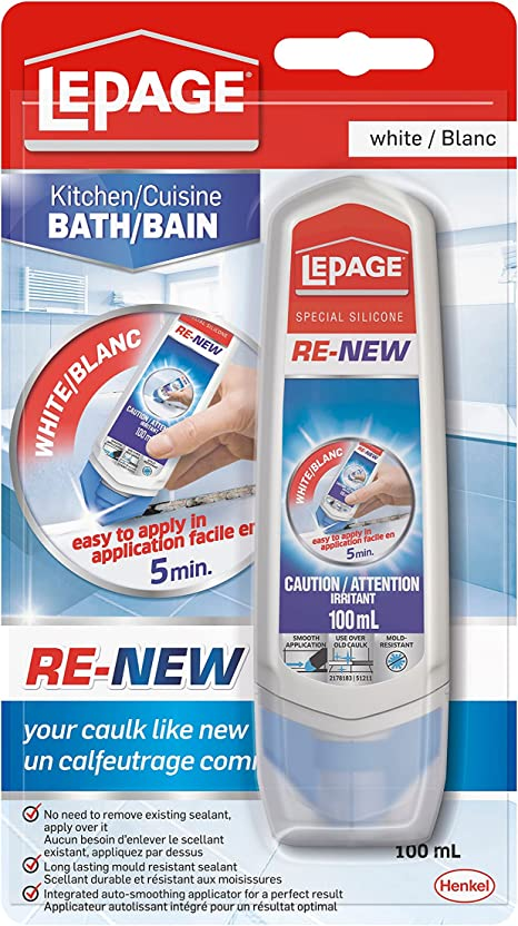 Lepage 2282611 Re New Specialty Silicone 100ml White Silicone Amazon Canada