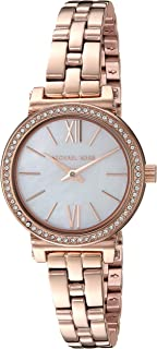 Michael Kors Women's MK3834 Analog Quartz Rose Gold Watch