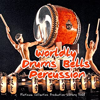 WORLDLY DRUMS AND PERCUSSION INSTRUMENTS - HUGE unique, very useful original Studio 24bit WAVe Samples/Loops/Grooves Libra...