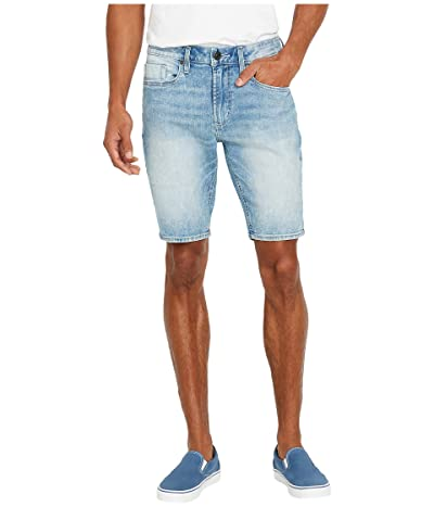 Buffalo David Bitton Parker-X Shorts (Whiskered/Sanded) Men