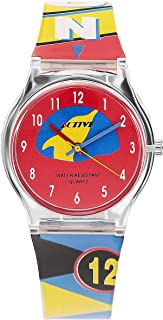 Active Watch Multi-Color with Plastic Band-ACT-008