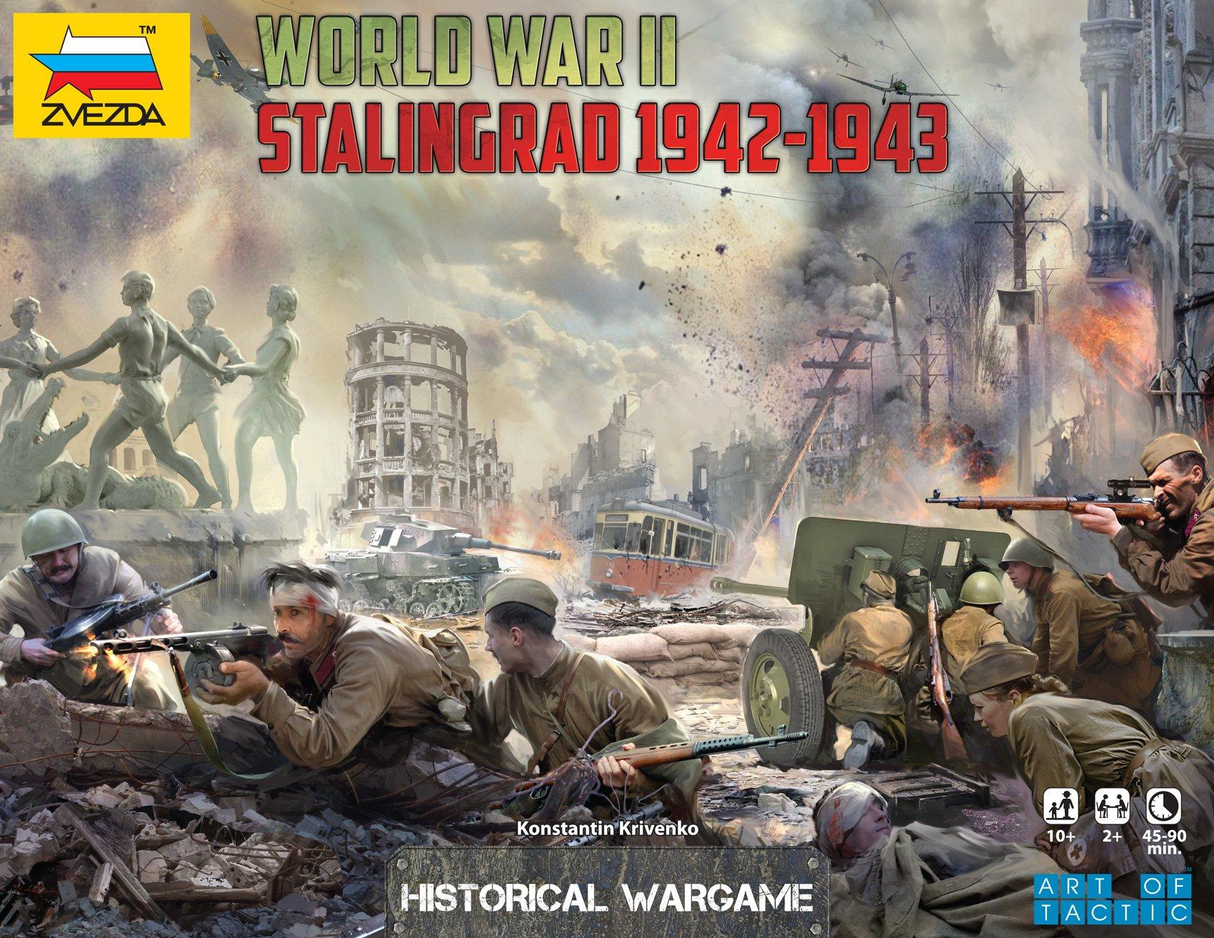 Zvezda 500786260 Battle of Stalingrad - Juego de Mesa [Importado de Alemania]: Amazon.es: Juguetes y juegos