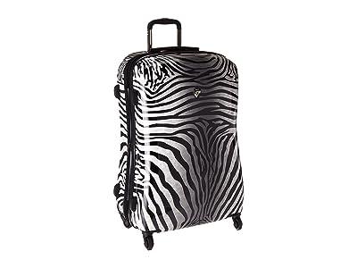 Heys America Zebra Equus 30 Spinner (Black/White) Luggage