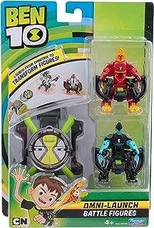Ben 10 Omni Launch - Figuras de Batalla – Heatblast & XLR8