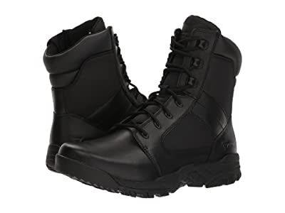 Bates Footwear Seige 8 Side Zip (Black) Men