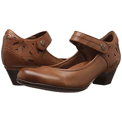 Rockport Cobb Hill Collection Cobb Hill Abbott Ankle Strap (Almond Leather) Women