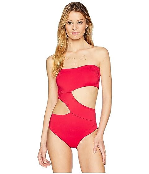 Seamless Red Volcom True Piece One Simply Ff4qSnA
