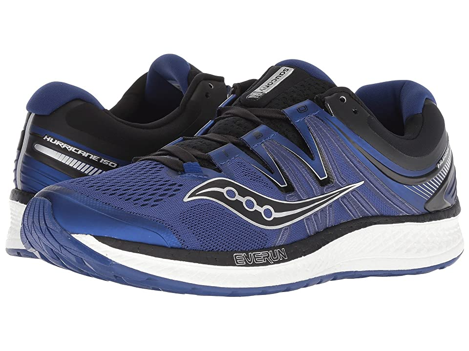 Saucony Hurricane ISO 4 (Blue/Black) Men