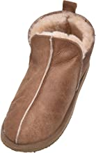 Womens/Ladies Genuine Full Sheepskin Slipper Boot with Hard Wearing Sole by Shepherd of Sweden