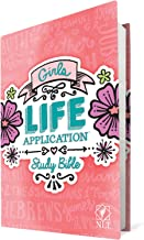 Tyndale NLT Girls Life Application Study Bible, Pink (Hardcover), NLT Bible with Over 800 Notes and Features, Foundations ...