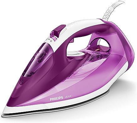 Philips Azur GC4543/30 - Plancha Ropa Vapor, 2500 W, Golpe Vapor 210 g, Vapor Continuo 50 g, Suela Steam Glide +, Antical Integrado
