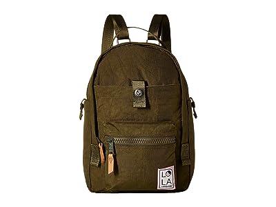 LOLA Utopian Small Backpack (Avocado) Backpack Bags