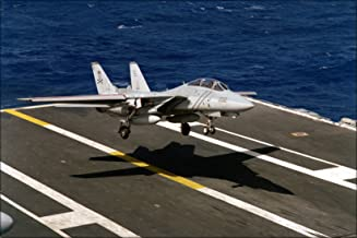 20x30 Poster; F-14A Tomcat Vf-84 Jolly Rogers Uss Abraham Lincoln 1990