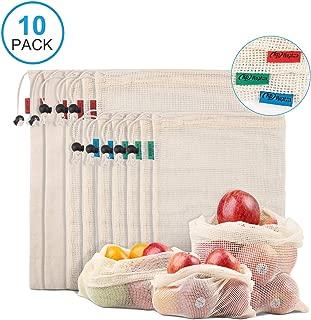 Kupton Bolsas de Comida para Fruta,Juguetes y Libros-Bolsas