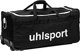 UHLSPORT - BASIC LINE 110 L SAC A ROULETTES - Sac à roulettes - Grande Contenance Mixte Adulte, Noir/Blanc, XL